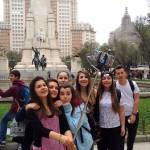 La fontaine Cervantès - Plaza de España