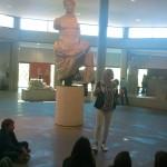 L'empereur Auguste représenté comme un dieu