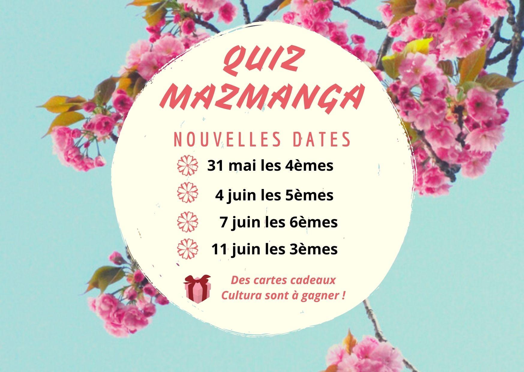 dates quiz mazmanga